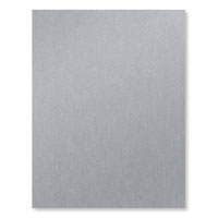 """Brushed Silver 8-1/2"""" X 11"""" Card Stock"""