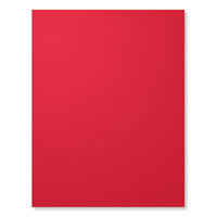 Real Red A4 Card Stock