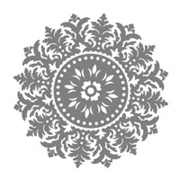 Medallion Stamp Brush Set - Digital Download