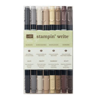 Stampin Write Markers - Neutrals Collection