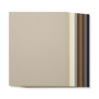 8-1/2X11 Smooth Card Stock - Neutrals Collection