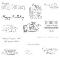 Bring On The Cake - Clear-Mount Stamp
