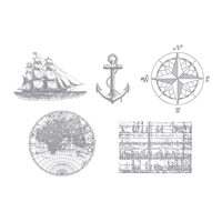 The Open Sea Stamp Brush Set -- Digital Download