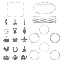 A Fitting Occasion Clear Stamp Set