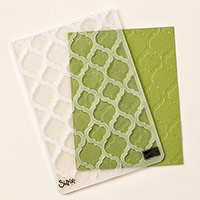 Modern Mosaic Textured Impressions Embossing Folder
