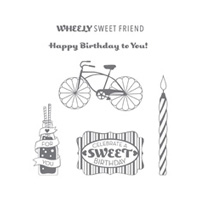 Cycle Celebration Wood Stamp Set