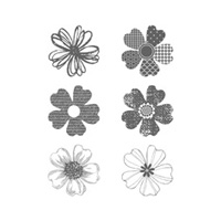 Flower Shop Clear Stamp Set
