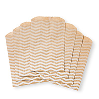 Chevron Tag A Bag Gift Bags