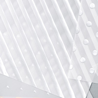 Silver Fancy Foil Designer Vellum