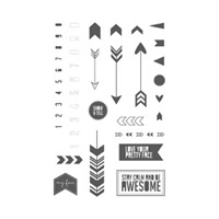 Show & Tell 2 Photopolymer Stamp Set