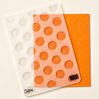 Polka Dot Textured Impressions Embossing Folder