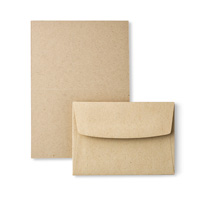 Crumb Cake Note Cards & Envelopes