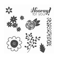 Garden Party Clear-Mount Stamp Set
