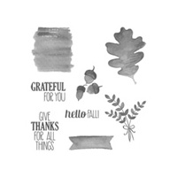 For All Things Wood-Mount Stamp Set