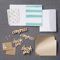 Glittered Greetings Refill Kit