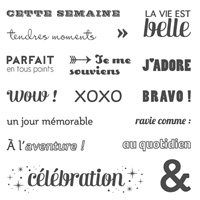 Project Life Je Me Souviens Photopolymer Stamp Set