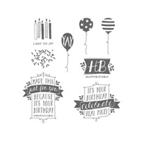 Balloon Bash Photopolymer Stamp Set