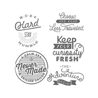 Adventure Awaits Photopolymer Stamp Set