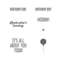 Hooray It's Your Day Photopolymer Stamp Set