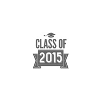 Class Of 2015 Wood Stamp