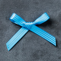 "Pacific Point 3/8"" Stitched Satin Ribbon"