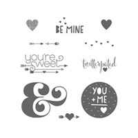 You Plus Me Clear Stamp Set