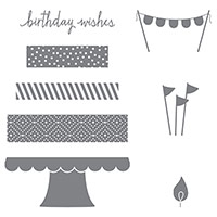 Build A Birthday Photopolymer Stamp Set