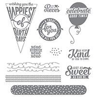 Sweet Stack Photopolymer Stamp Set