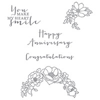 Timeless Love Clear-Mount Stamp Set