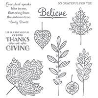 Lighthearted Leaves Photopolymer Stamp Set