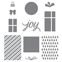 Your Presents Wood-Mount Stamp Set
