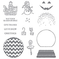 Sparkly Seasons Photopolymer Stamp Set