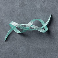 "Pool Party 3/8"" (1 Cm) Glitter Ribbon"