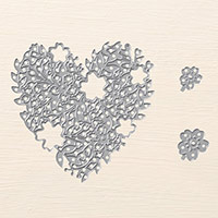 Bloomin' Heart Thinlits Dies