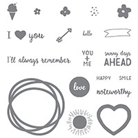 Project Life Memories In The Making Photopolymer Stamp Set