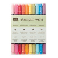 Stampin Write Markers - Brights Collection