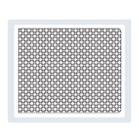 Square Lattice Textured Impressions Embossing Folder Die
