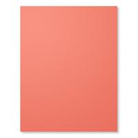 """Calypso Coral 8-1/2"""" X 11"""" Card Stock"""