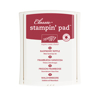 Raspberry Ripple Classic Stampin' Pad