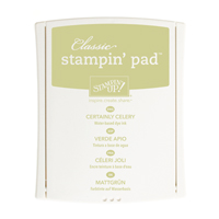 Certainly Celery Classic Stampin' Pad