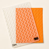 Chevron Textured Impressions Embossing Folder