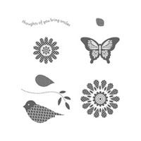 Polka-Dot Pieces Clear Stamp Set