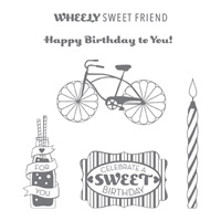 Cycle Celebration Clear Stamp Set