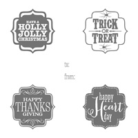 Tags 4 You Clear-Mount Stamp Set