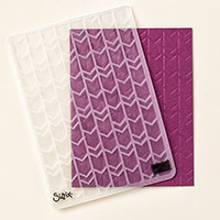 Folder Arrows Textured Impressions Embossing Folder