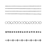Draw The Line Photopolymer Stamp Set