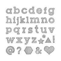 Epic Alphabet Photopolymer Stamp Set