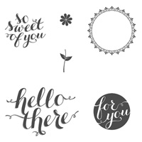 Hello There Clear-Mount Stamp Set