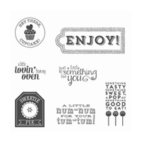Num-Num Wood-Mount Stamp Set
