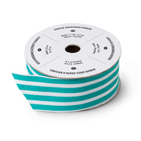 "Bermuda Bay 1-1/4"" Striped Grosgrain Ribbon"